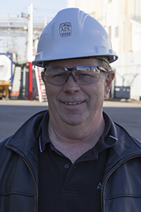 Alberta Distillers Ltd. Production Superintendent Rick Murphy. Photo ©2013 by Mark Gillespie.