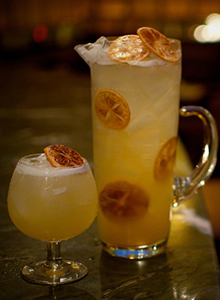 The Stanton Social's Centennial Punch. Image courtesy The Stanton Social/Domain New York.