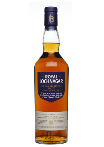 "Royal Lochnagar's ""Friends of the Classic Malts"" bottling. Image courtesy Diageo via Cognis PR."