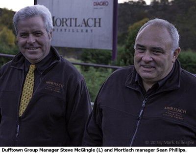 Mortlach's Steve McGingle & Sean Phillips. Photo ©2013 by Mark Gillespie.