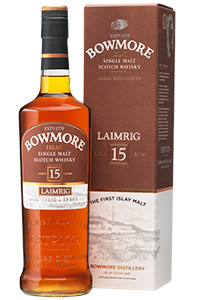 Bowmore Laimrig Single Malt Scotch Whisky. Image courtesy Morrison Bowmore Distillers.