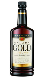 Canada Gold Canadian Whisky. Image courtesy Forty Creek Distillery.