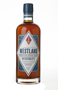 Westland American Single Malt Whiskey. Image courtesy Westland Whiskey.