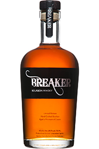 Breaker Bourbon. Image courtesy Ascendant Spirits.