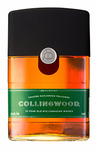 Collingwood 21 Canadian Rye. Image courtesy Brown-Forman.
