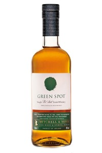 Green Spot Irish Whiskey. Image courtesy Irish Distillers.