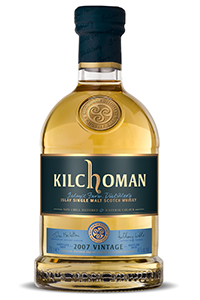 Kilchoman 2007 Vintage. Image courtesy Kilchoman/ImpEx Beverages.
