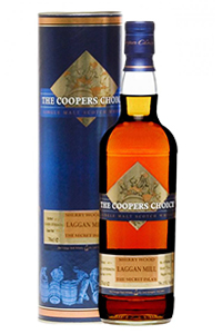 Cooper's Choice Laggan Mill 11-year-old Islay Single Malt. Image courtesy The Vintage Malt Whisky Company.