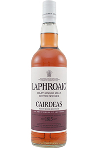 Laphroaig Cairdeas Port Wood. Image courtesy Laphroaig.