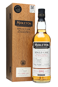 Midleton 1991 Single Cask for The Whisky Exchange. Image courtesy the Whisky Exchange.