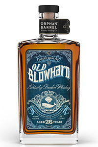 Old Blowhard Kentucky Straight Bourbon. Image courtesy Diageo.