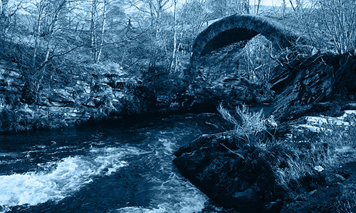 "The ""Smuggler's Bridge"" in Speyside. Photo ©2010 by Mark Gillespie"