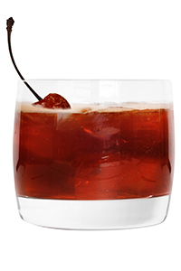 Basil Hayden's Presidential Cherry Spice cocktail. Image courtesy Beam/DBC PR.