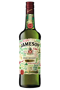 Jameson's 2014 St. Patrick's Day Bottle designed by Dermot Flynn. Image courtesy Irish Distillers.