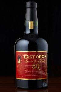 The Last Drop 50-Year-Old Blended Scotch. Image courtesy Last Drop Distillers.
