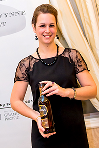 "Alwynne ""Miss Whisky"" Gwilt. Photo ©2014 by Jen Steele, courtesy of the Victoria Whisky Festival."
