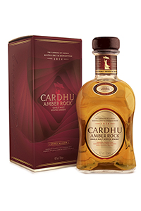 Cardhu Amber Rock Single Malt Scotch Whisky. Image courtesy Diageo.