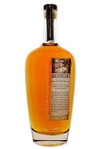 Masterson's 10YO Straight Rye. Image courtesy 3 Badge Mixology.