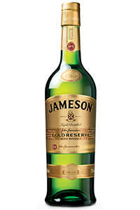 Jameson Gold Reserve Irish Whiskey. Image courtesy Irish Distillers.
