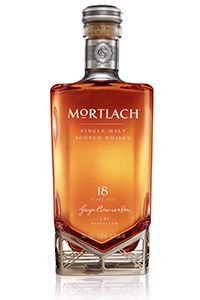 Mortlach 18 Single Malt Scotch Whisky. Image courtesy Diageo.