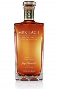 Mortlach Rare Old Special Strength Single Malt Scotch Whisky. Image courtesy Diageo.