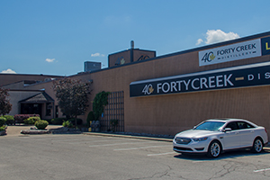 The Forty Creek Distillery in Grimsby, Ontario. Photo ©2013 by Mark Gillespie.