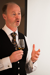 Tomatin Distillery Manager Graham Eunson. Photo ©2014 by Jen Steele, Courtesy of the Victoria Whisky Festival.