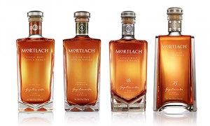 The four Mortlach single malts. Images courtesy Diageo.