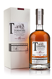 Tormore 16 Single Malt Scotch Whisky. Image courtesy Chivas Brothers.