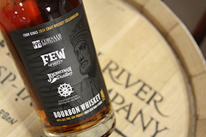 Four Kings Bourbon. Image courtesy Mississippi River Distilling Company.