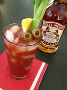 Belle Meade Bourbon's Bloody Belle Cocktail. Image courtesy Belle Meade Distillery.