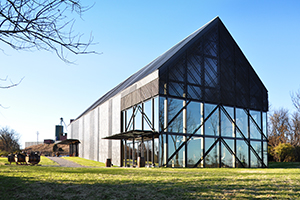 The new Wild Turkey Visitors Center in Lawrenceburg, Kentucky. Image courtesy Wild Turkey.