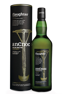 anCnoc Flaughter Highland Single Malt. Image courtesy anCnoc.