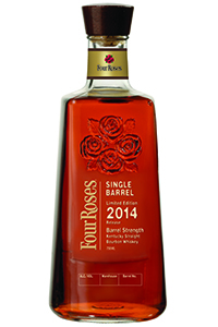 Four Roses 2014 Limited Edition Single Barrel. Image courtesy Four Roses.