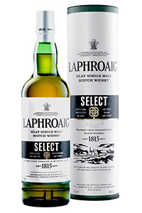 Laphroaig Select Islay Single Malt Scotch Whisky. Image courtesy Laphroaig.
