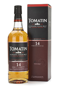 Tomatin 14 Year Old Highland Single Malt. Image courtesy Tomatin.