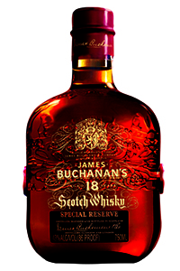 Buchanan's 18 Blended Scotch Whisky. Image courtesy Diageo.