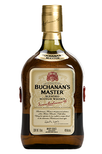 Buchanan's Master Blended Scotch Whisky. Image courtesy Diageo.
