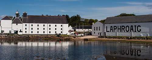 The Laphroaig Distillery on Islay. Photo ©2010 by Mark GIllespie.