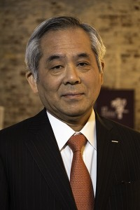 Suntory chief blender Seiichi Koshimizu. Photo ©2014 by Mark Gillespie.