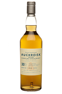 Auchroisk 30-Year-Old Single Malt. Image courtesy Diageo.
