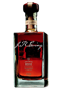 J.R. Ewing Private Reserve Bourbon. Image courtesy Southfork Bottling Company/Prairie Creek Beverages.