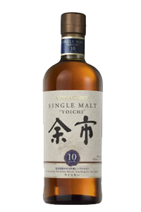 Nikka Yoichi 10 Year Old Single Malt. Image courtesy La Maison du Whisky.