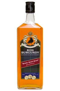 Ron Burgundy Great Odin's Raven Blended Scotch. Image courtesy Riviera Imports.