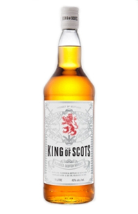 King of Scots Blended Scotch. Image courtesy Douglas Laing & Co.
