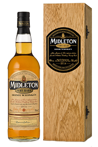 Midleton Very Rare 2014 Edition. Image courtesy Irish Distillers.