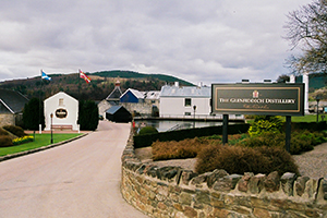 William Grant & Sons' Glenfiddich Distillery in Dufftown, Scotland. Photo ©2010 by Mark Gillespie.