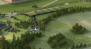 An architect's rendering of The Macallan Estate. Image courtesy Edrington.
