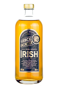 Uisce Beatha Irish Whiskey. Image courtesy ROK Spirits.