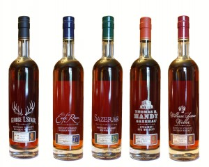 The 2014 Buffalo Trace Antique Collection series. Image courtesy Buffalo Trace.